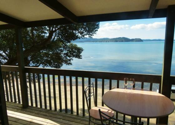 From the upstairs deck - An absolute beachfront kiwi holiday home! - Auckland - rentals