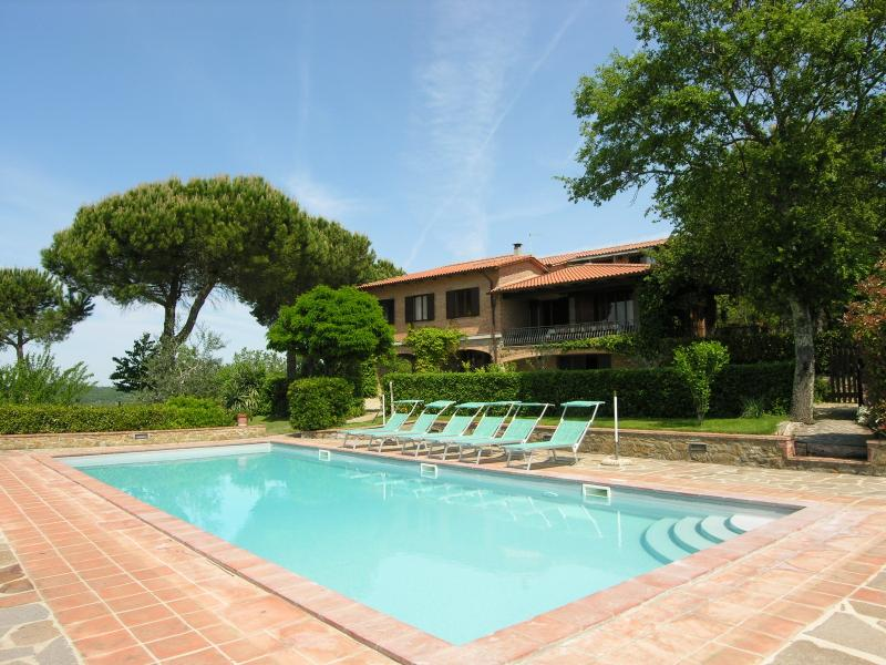 7 bedroom Villa in Castelnuovo Berardenga, Siena And Surroundings, Tuscany - Image 1 - Vagliagli - rentals