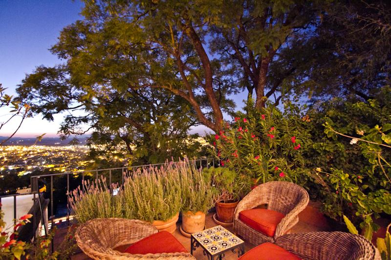 Your private Loggia - Opal's outdoor living room - Casita Opal - Centro with a Million Dollar View - San Miguel de Allende - rentals