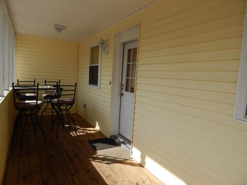 Covered Porch - Beach Retreat 2, Second Floor Villa Steps to Beach - North Myrtle Beach - rentals