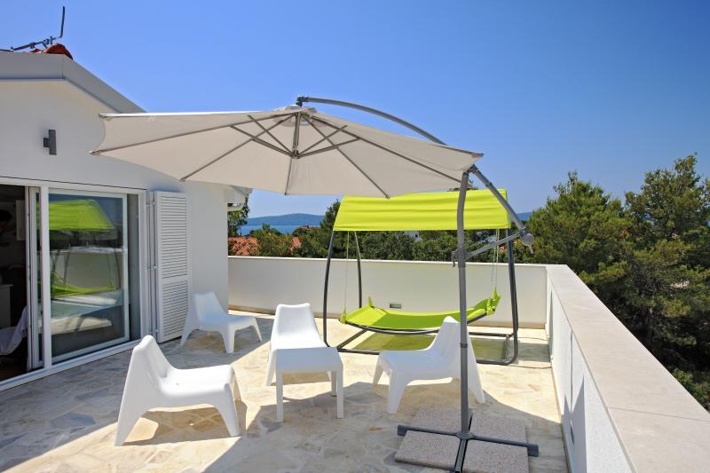 Sunny terrace with sea view - Vila Moli Apartments- 2 Bedroom Lux Apartment Cuci - Zadar - rentals