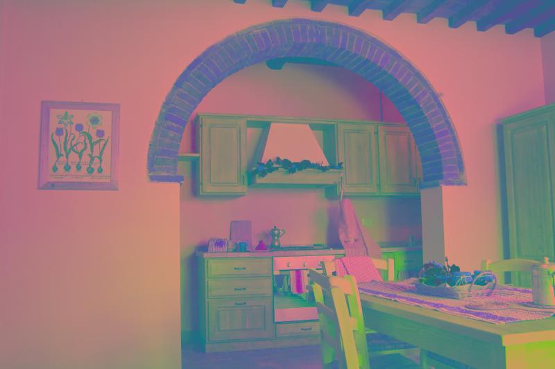 """The kitchen - Locanda del Viandante - The """" Suite Erica"""" surrounded by nature - Anghiari - rentals"""