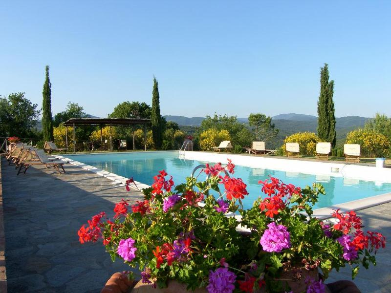 shared pool - Chalet In Tuscany - 2 People - Massa Marittima - rentals
