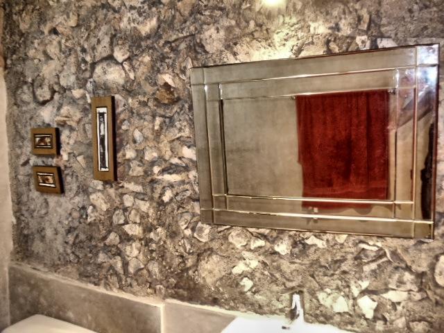 bathroom - BNB La Pantera Negra Yellow Room - Merida - rentals