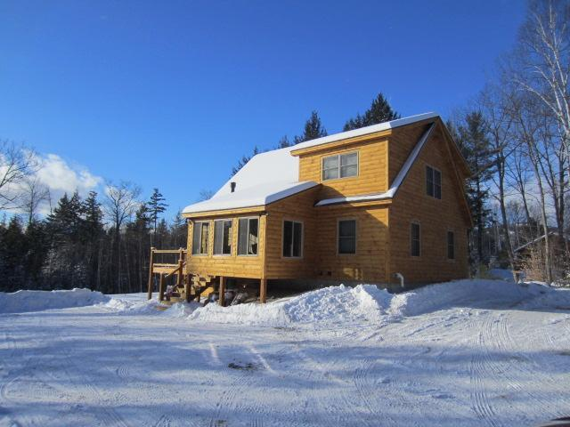 Exterior of home - Deer View Cabin - Bethel - rentals