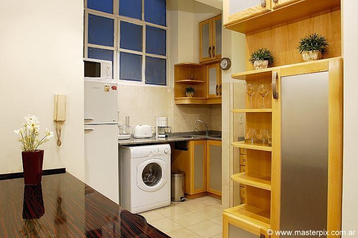 Kitchen - 1 bedroom / 1.5 baths ( LR1 ) Recoleta - Buenos Aires - rentals