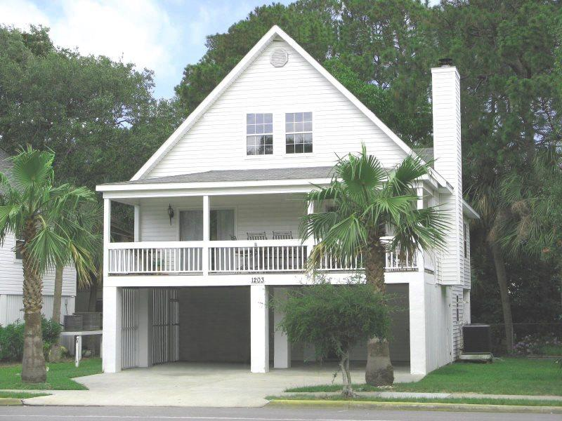1203 Butler Avenue - A Tropical Retreat Just One Block From the Beach - FREE Wi-Fi - Image 1 - Tybee Island - rentals
