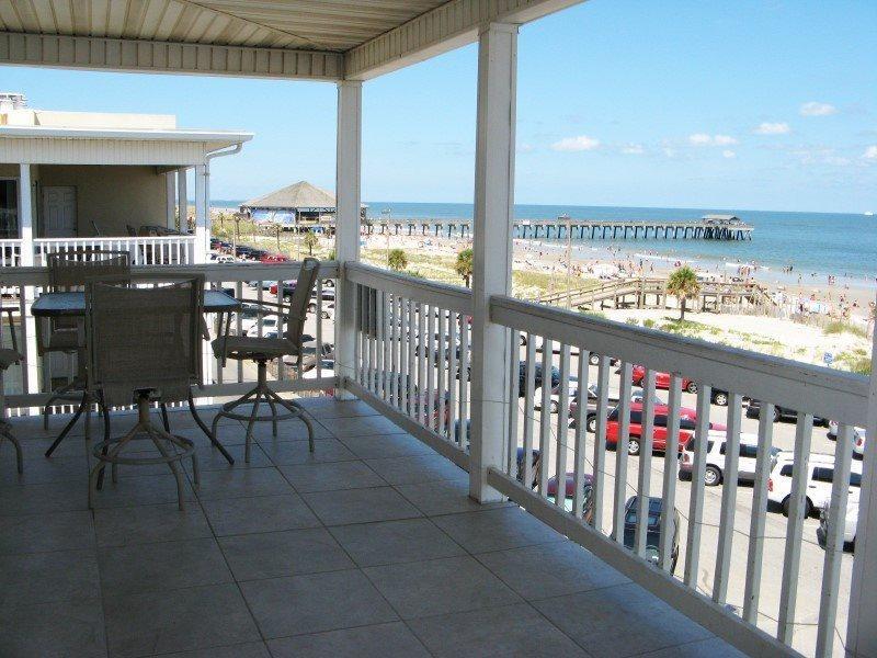 Dolphin Watch Condominiums Unit 11 - Ocean Front - FREE Wi-Fi - Image 1 - Tybee Island - rentals