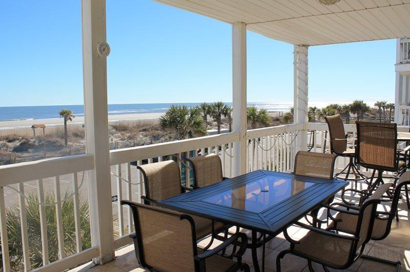Dolphin Watch Condominiums Unit 8 - Ocean Front - FREE Wi-Fi - Image 1 - Tybee Island - rentals