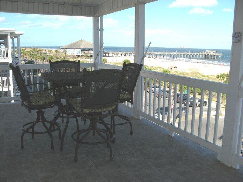Dolphin Watch Condominiums Unit 9 - Ocean Front - FREE Wi-Fi - Image 1 - Tybee Island - rentals