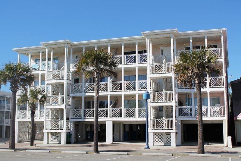 Enjoy the spectacular ocean view from your private ocean front balcony and you are just steps from the beach - South Beach Ocean Condos - East - Unit 9 - Panoramic Oceanfront Views of Tybee Beach - FREE Wi-Fi - Tybee Island - rentals