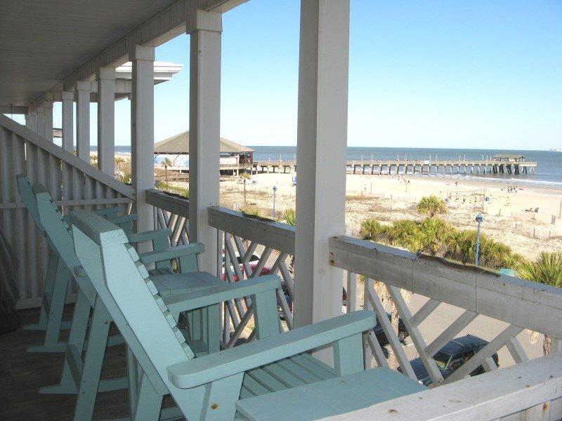 South Beach Ocean Condos - East - Unit 9 - Panoramic Oceanfront Views of Tybee Beach - Small Dog Friendly - FREE Wi-Fi - Image 1 - Tybee Island - rentals