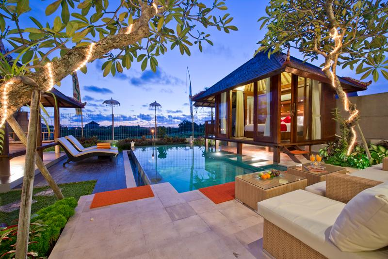 Swimming Pool - 3 Bedrooms | Paddy View Villa Bali - Bali - rentals