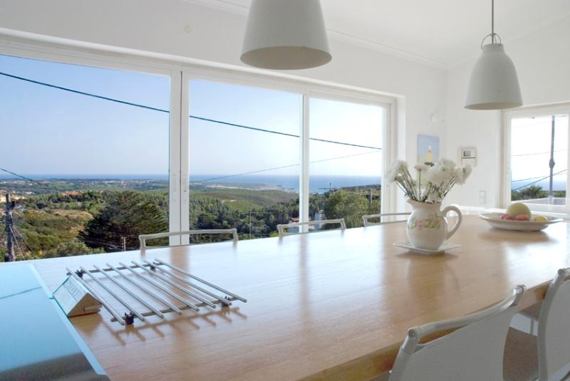 Eating area and view - Ocean Light - Cascais - rentals