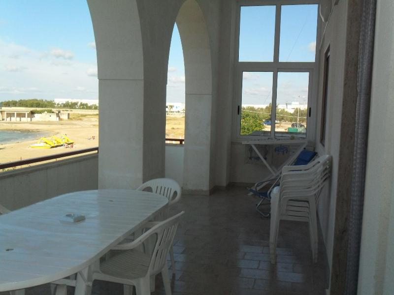Apartment Ostuni Marina wide Terrace Beachfront - Image 1 - Ostuni - rentals