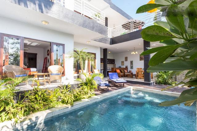 2 bedrooms with swimming pool view & 2 bedrooms with rice fields view - Bali Karma Villa 4BR Canggu - Canggu - rentals