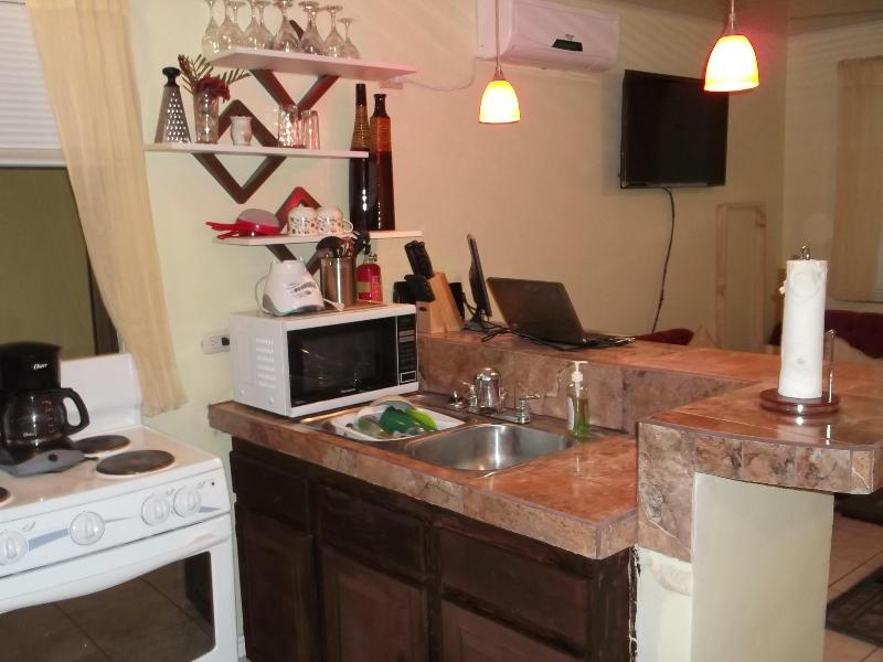 Full Kitchen - Costa Rica Vacation Home - Playas del Coco - rentals