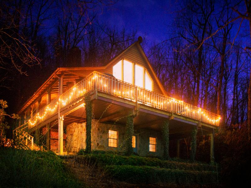 The Blue Ridge Cabin - Image 1 - Hendersonville - rentals
