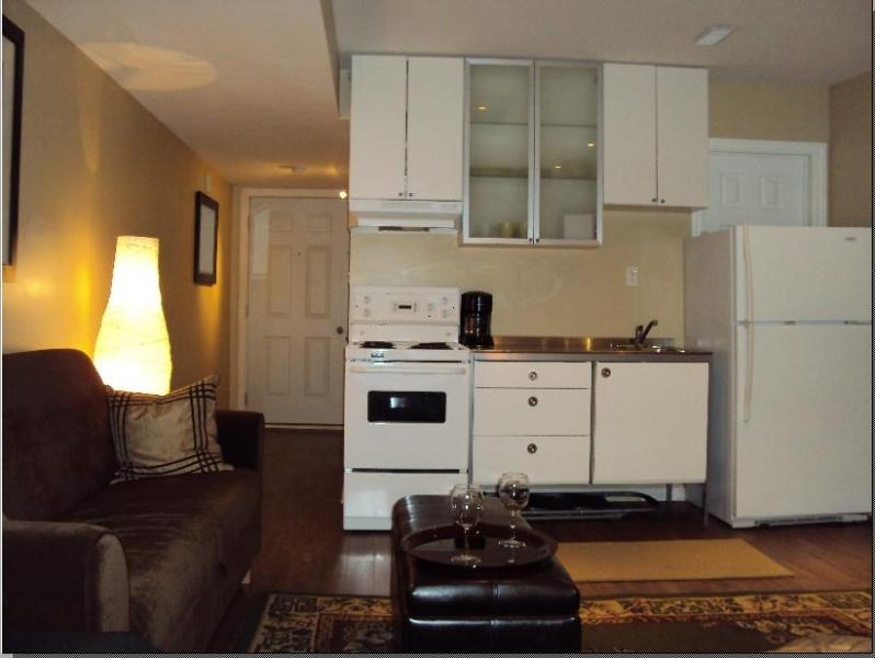 Full Kitchen - Super Studio in the Upper Beach - Toronto - rentals