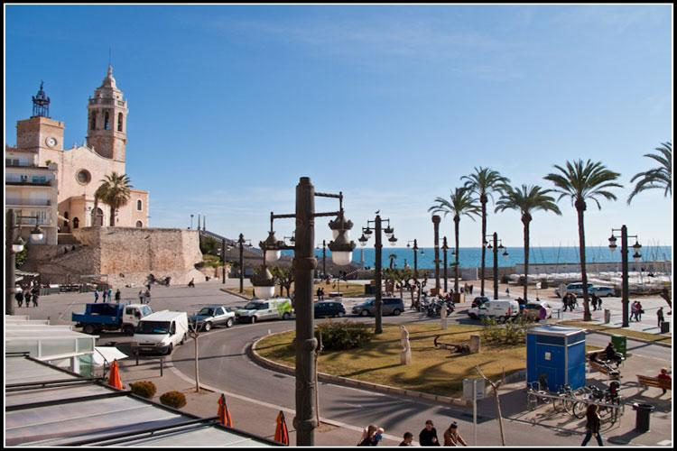 RIBERA SOL beach front apartment in Sitges - Image 1 - Sitges - rentals