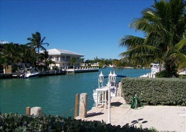 canal view - Quick Ocean access in Key Colony Beach - Key Colony Beach - rentals