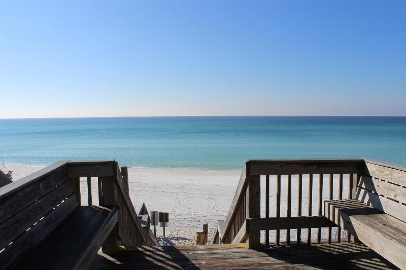 steps to beautiful beach - Beach side of 30A with  super easy beach access! - Santa Rosa Beach - rentals