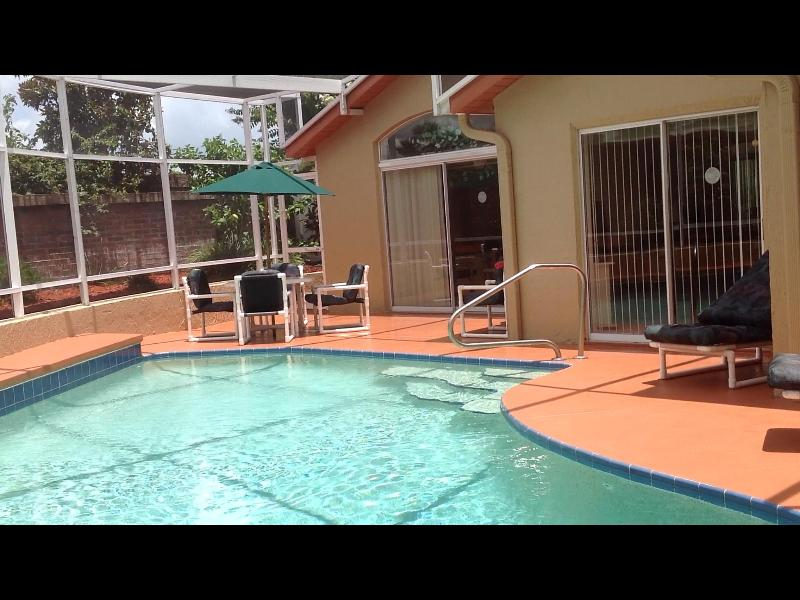 Pool - Private, Solar Heated, Screened in Pool Exclusively for You and Your Guests. - Orlando - rentals