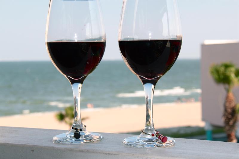 Viw from the balcony - Ultra Modern Beach Condo - right on the shore! - Corpus Christi - rentals