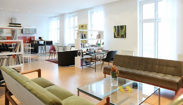 living room from 14th century - 14th Century Apartment Vienna - Vienna - rentals
