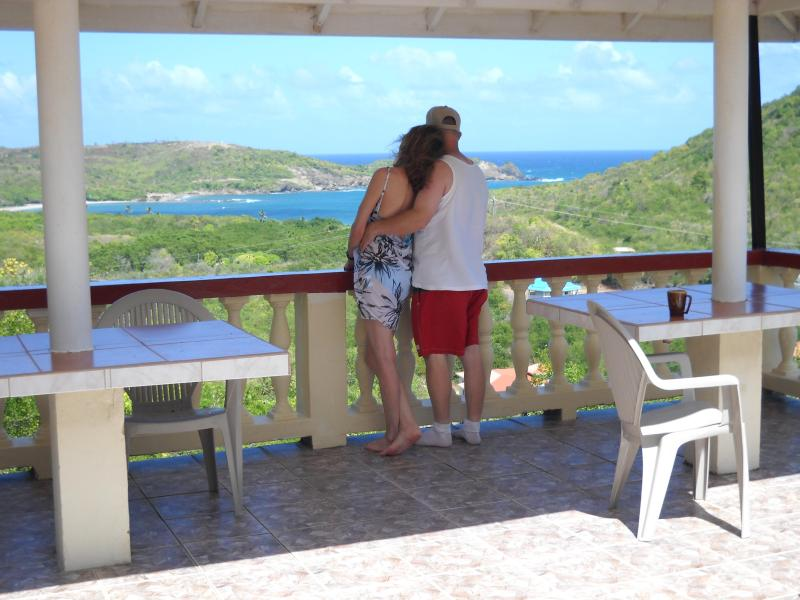 A romantic evening with a view - Ocean View 1 Bedroom Accommodation - Cas En Bas - rentals