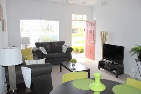 Modern 3 Bedroom Town Home in Kissimmee Resort. 4551JFL-105 - Image 1 - Orlando - rentals