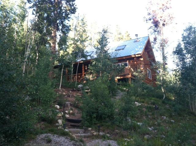 Authentic, Beautiful Log Cabin in the Mountains! - Amazing, Secluded Mountain Log Cabin w Hot Tub! - Fairplay - rentals