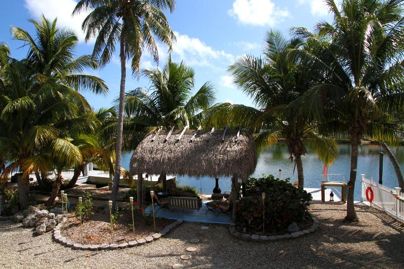 View from Master Suite - ISLAMORADA WATERFRONT PARADISE with FREE DOCKAGE - Matecumbe Key - rentals