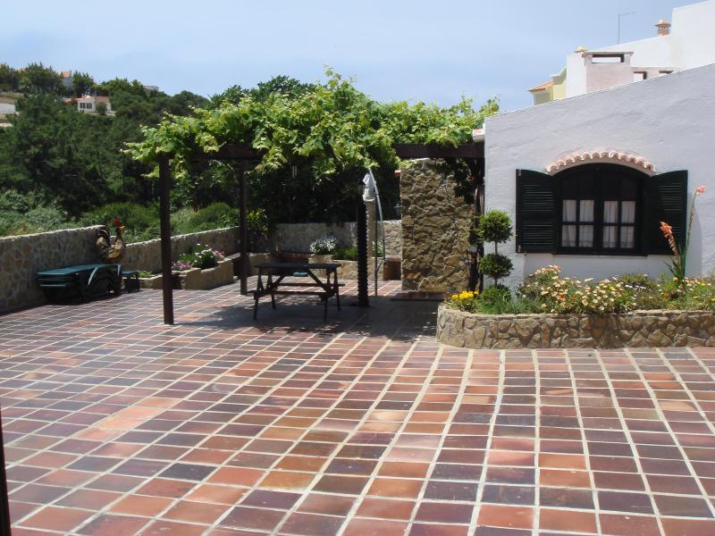 patio - Villa in Ericeira - Mafra - rentals