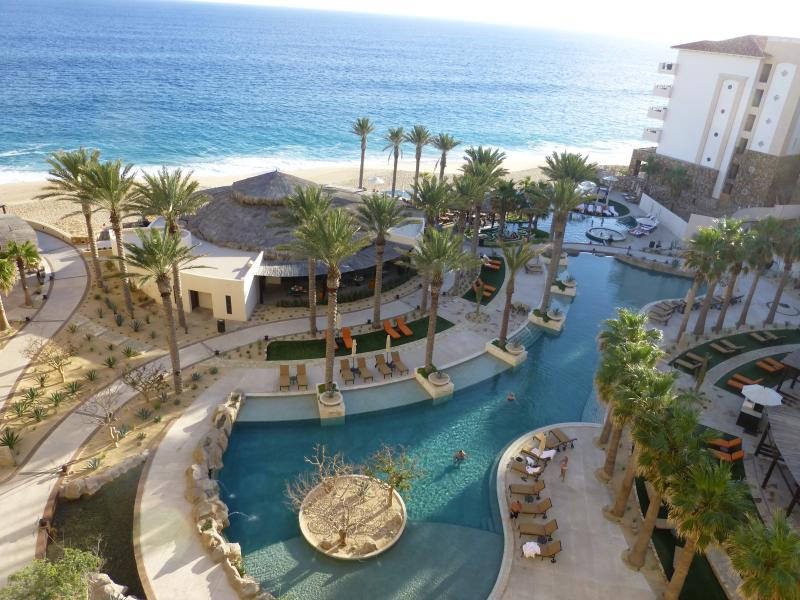 One of the Pools - Luxury New 1-Bedroom Master Suite  in 5* Conde-Nas - Cabo San Lucas - rentals