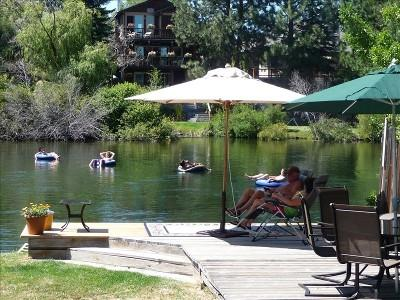 Dock - Downtown Riverfront Cottage - Bend - rentals
