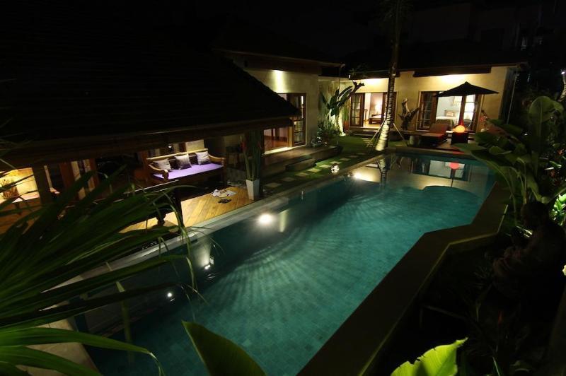 Outdoor Overview/Pool/Garden - Cozy 3 Bedrooms Villa in Pererenan, Canggu, Bali - Pererenan - rentals