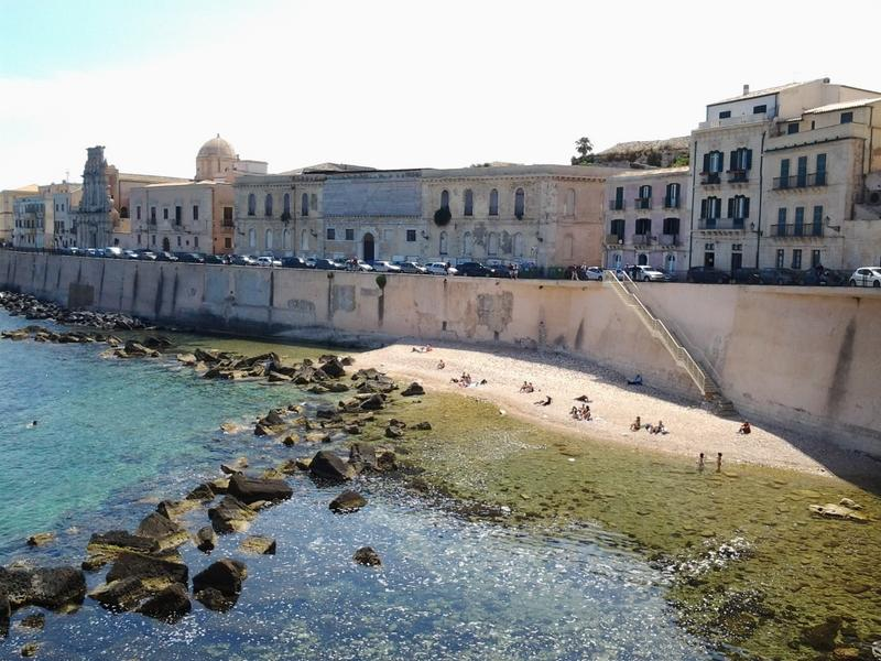 "Spiaggia a 20 metri  ""Cala Rossa"" - Casa Aretusa - Ortigia - Syracuse - rentals"