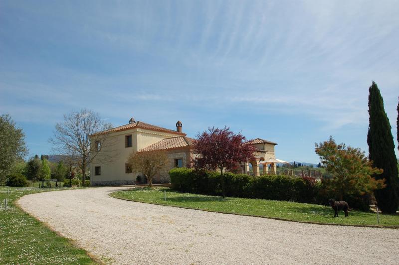 main entrance - Beautiful Villa in CALVI dell' UMBRIA near Rome - Calvi dell'Umbria - rentals