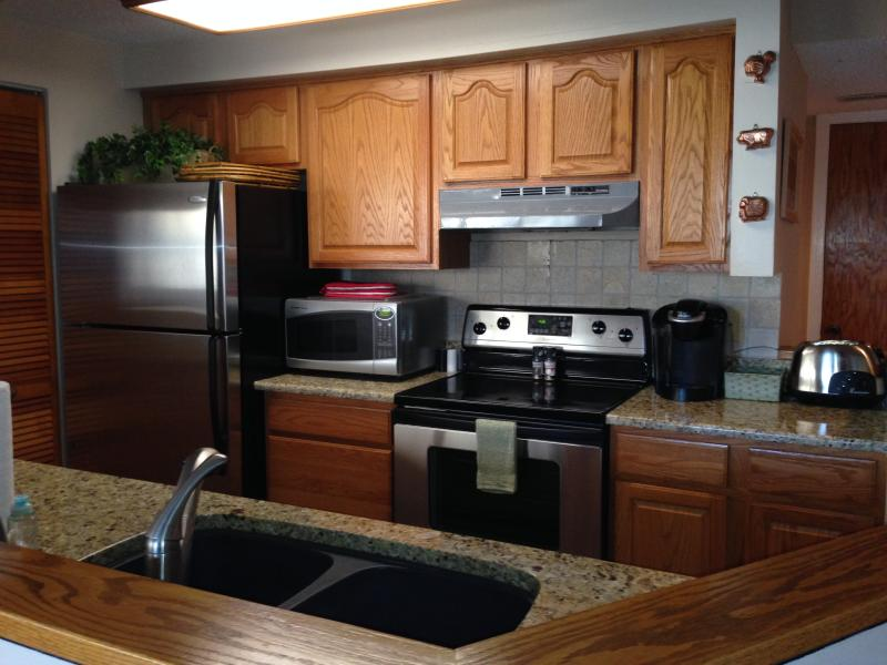 Upgraded kitchen with plenty of supplies! - (UP) On the 18th Fairway on Devils Knob! - Wintergreen - rentals