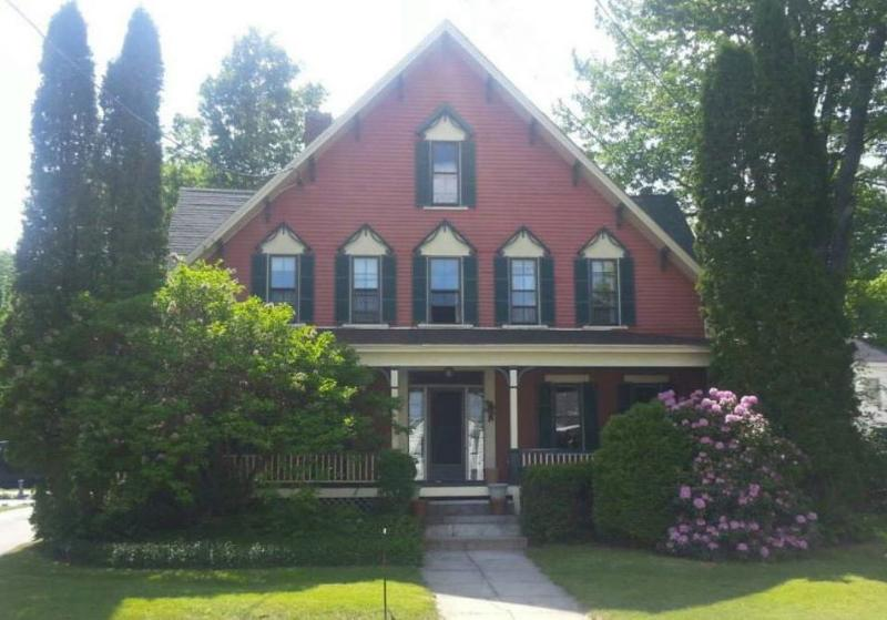 Front our House with full length porch - The Augustus Perely House - Bridgton - rentals