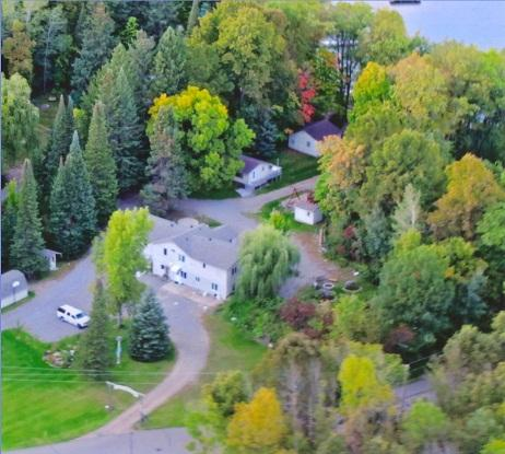 SweetWater from the air - SweetWater Cabin #3 - Cushing - rentals
