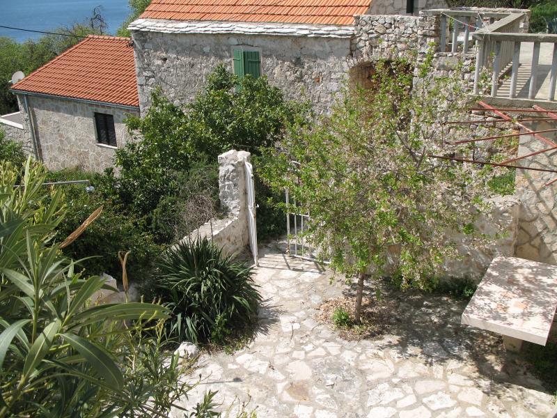 garden - Stone house-AP2, Zavala-island Hvar - Zavala - rentals