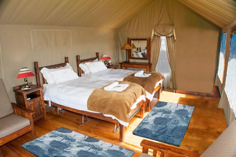 Interior of Tent - Riverside Retreat Manali - Manali - rentals