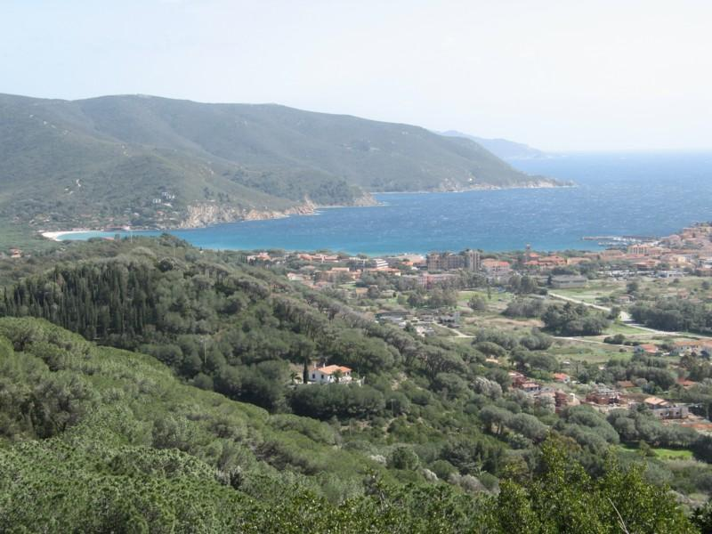 view from San Piero - Cosy apartment in Elba Island - Campo nell'Elba - rentals