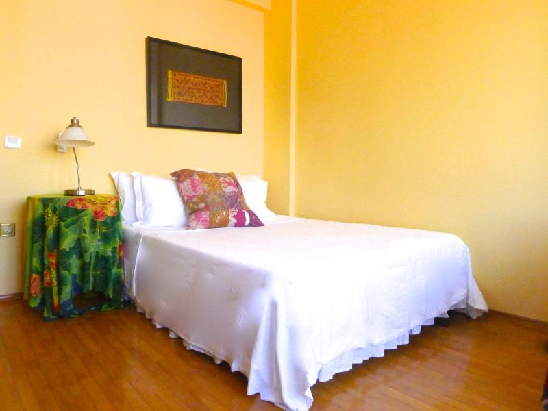 Large bdrm #2 includes a sleeper couch/reading area, and a door to enclosed balcony - Next to Tea Garden in charming, central area.Elev. - Kozakli - rentals