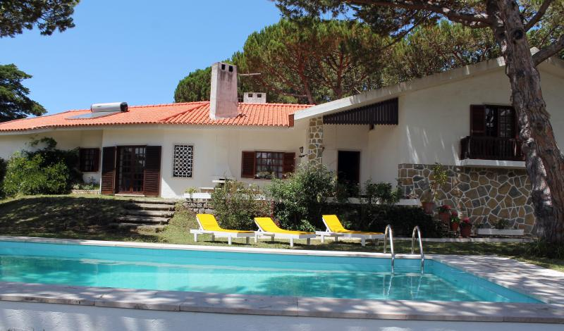 Garden & Swimming Pool - Casa da Praia - Colares,Sintra - Azenhas do Mar - rentals