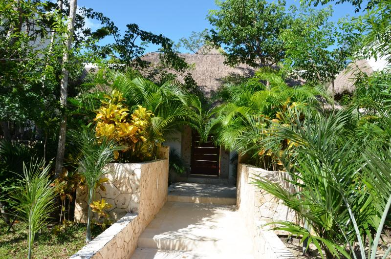 Main door - Zama Village 211, Tulum, Mexico - Tulum - rentals