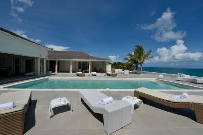 Romantic 3 Bedroom Villa with Private Beach in Terres Basses - Image 1 - Baie Rouge - rentals