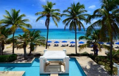 Private 3 Bedroom Villa at the Exclusive Coral Beach Club on Dawn Beach - Image 1 - Dawn Beach - rentals